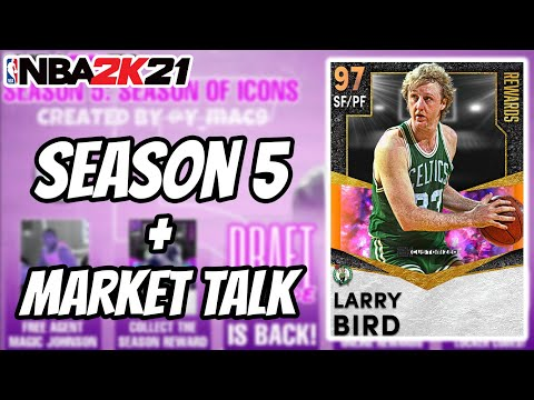 SEASON 5 IS ALMOST HERE + MARKET TALK   NBA 2K21 MYTEAM