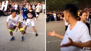 Streetball Hooper FAKES OUT Opponent!