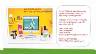 Thiết kế website kinh doanh hiệu quả chuyên nghiệp