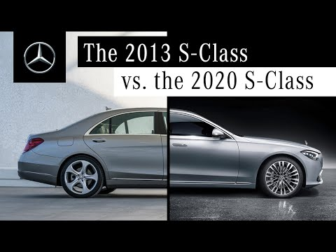 Comparing the S-Class (2020) to Its Predecessor – What's New?