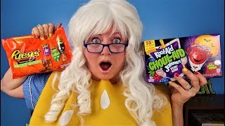 Halloween Candy Reeses Twix Trolli Peeps Kit Kat Cheeseburger Snickers Skittles M&Ms