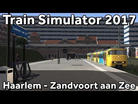 Train Simulator 2017: PREVIEW Haarlem - Zandvoort aan Zee op Noordwest Nederland V5.0