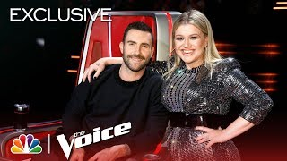 The Voice 2018 - Most Talkative: Adam vs. Kelly (Digital Exclusive)