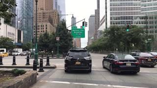 Drive 4K - World Trade Center District - New York City USA