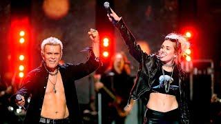 Billy Idol, Miley Cyrus - Rebel Yell (Live)