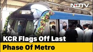 Hyderabad 2nd Largest Metro Network In India- KTR F 2 F..