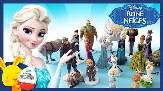 La Reine des Neiges - Les personnages en jouet - Une surprises Touni Toys
