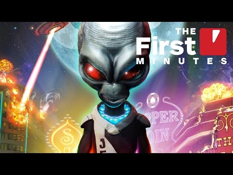 The First 12 Minutes of Destroy All Humans 2 on PS4