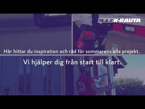 K-Rauta presenterar Snickarskolan, trailer