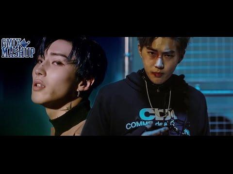 EXO X B.A.P - SKYDIVE MONSTER (Mashup)