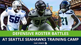 Seattle Seahawks 2021 Training Camp Roster Battles On Defense