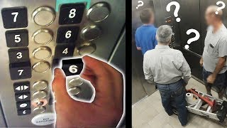Switching Elevator Buttons Prank
