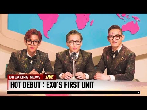 HOT DEBUT : EXO'S FIRST UNIT
