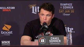 Bellator 192: Chael Sonnen Post-Fight Press Conference - MMA Fighting