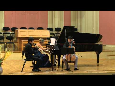 Claude Debussy - Trio in G major (1880) - 1/4 - Trio Saxpiacello