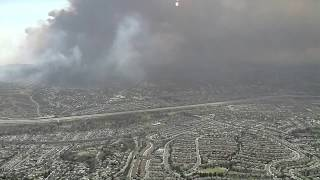 Smoke from Anaheim fire creates dangerous air quality
