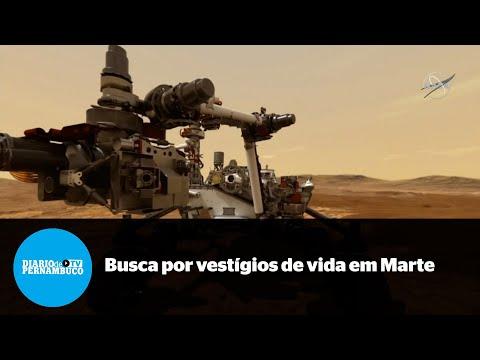 Em busca por vestígios de vida em Marte