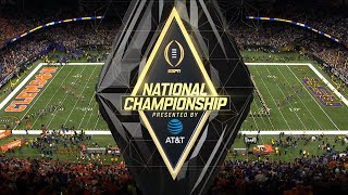 2019-20 NCAA CFB | ESPN College Football Playoff National Championship Intro/Theme
