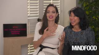 Angelina Jolie and Loung Ung on 'First They Killed My Father: A Daughter of Cambodia Remembers'