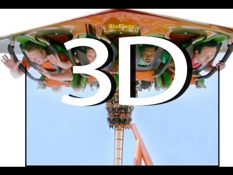 Tatsu (3D On-Ride) Six Flags Magic Mountain