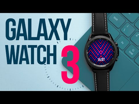 video Samsung Galaxy Watch 3 41мм