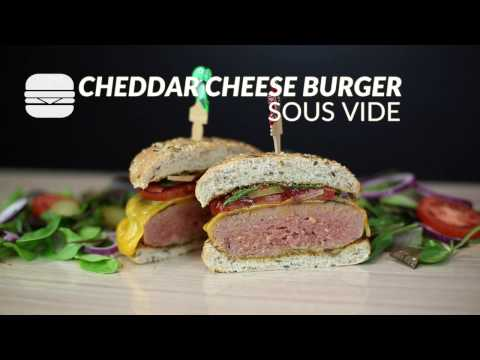 Cheddar cheese burger recipe