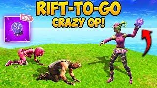 *NEW* RIFT-TO-GO IS INSANE! - Fortnite Funny Fails and WTF Moments! #298