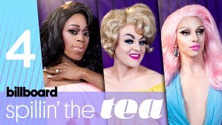 Spillin' The Tea: 'Drag Race' Queens Talk Best Entrances, Lip Syncs & Snatch Games | Billboard Pride