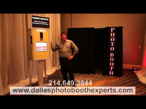 Dallas Photo Booth Experts - photo booth and video booth rentals in Dallas/Fort Worth Metroplex