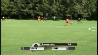 UMFK Men's Soccer vs. University of New Brunswick Fredericton - August 30, 2018