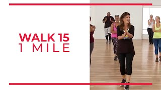 Walk At Home: Walk 15 | 1 Mile Walking Exercise