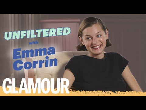 The Crown's Emma Corrin On Body Hair & Becoming Princess Diana By Watching 'Cat Videos' | GLAMOUR UK