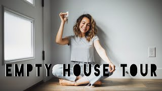 EMPTY HOUSE TOUR! OUR NEW HOME | 2020