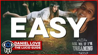 How to LUCID DREAM the easy way