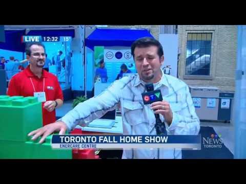 CTV News at Noon at the 2016 Toronto Fall Home Show clip 3