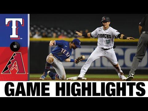 Rangers vs. D-backs Game Highlights (9/7/21)   MLB Highlights