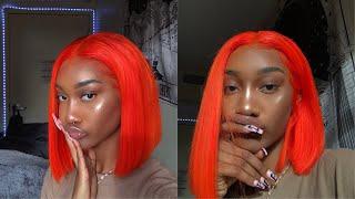 GRWM EVERYDAY MAKEUP ROUTINE ft. Orange Wig?!? Tatyana Ali