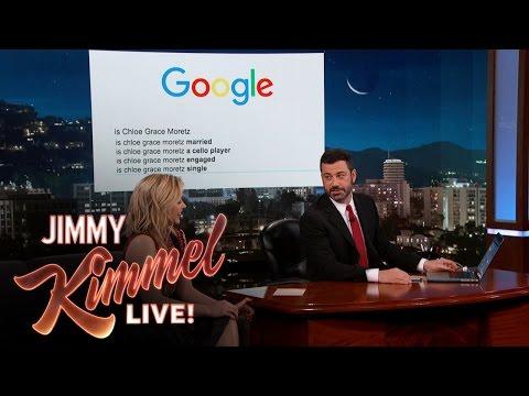 Chloë Grace Moretz Googles Herself