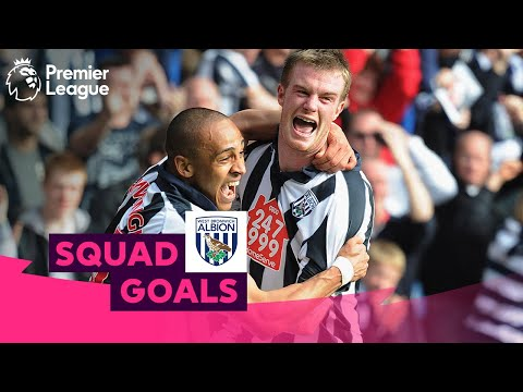 WONDERFUL West Bromwich Albion Goals | Brunt, Amalfitano, Chadli, | Squad Goals