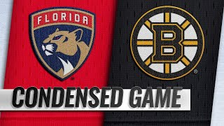 03/07/19 Condensed Game: Panthers @ Bruins
