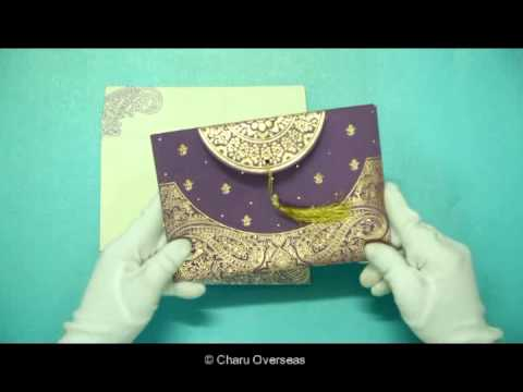 Indian Wedding Cards | IN-8234D | 123WeddingCards