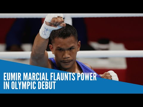 Eumir Marcial flaunts power in Olympic debut
