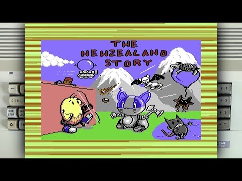 The New Zealand Story on the Commodore 64