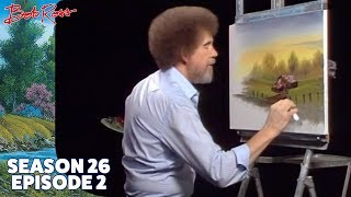 Bob Ross - Delightful Meadow Home (Season 26 Episode 2)
