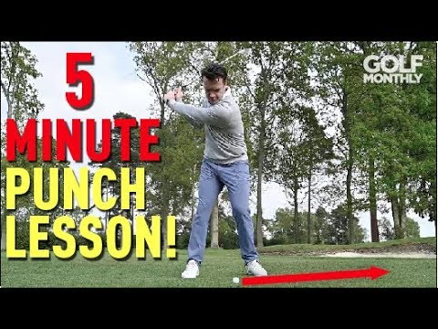 5-Minute Punch Shot Lesson I Golf Monthly