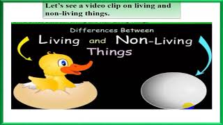Relationship between living and non-living things on environment.class 5
