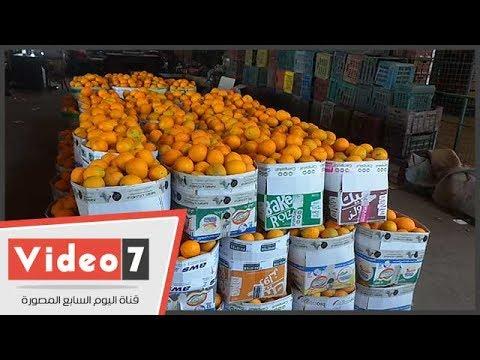 ركود بسوق العبور للفاكهة قبل شهر رمضان