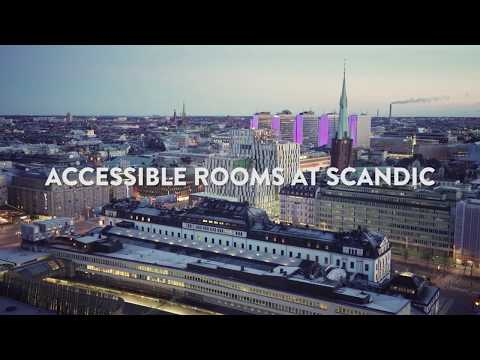 ACCESSIBLE ROOMS AT SCANDIC