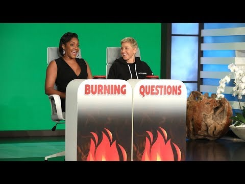 Tiffany Haddish Answers Ellen's 'Burning Questions' - Part 2