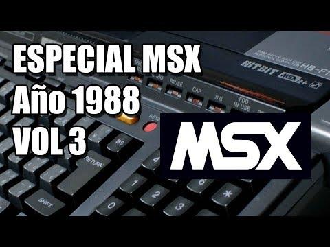 ESPECIAL MSX Año 1988. VOLUMEN 3